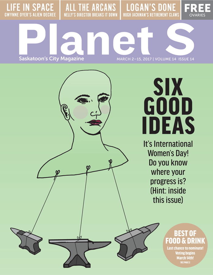 March 2 2017 Planet S cover by Edith Skeard